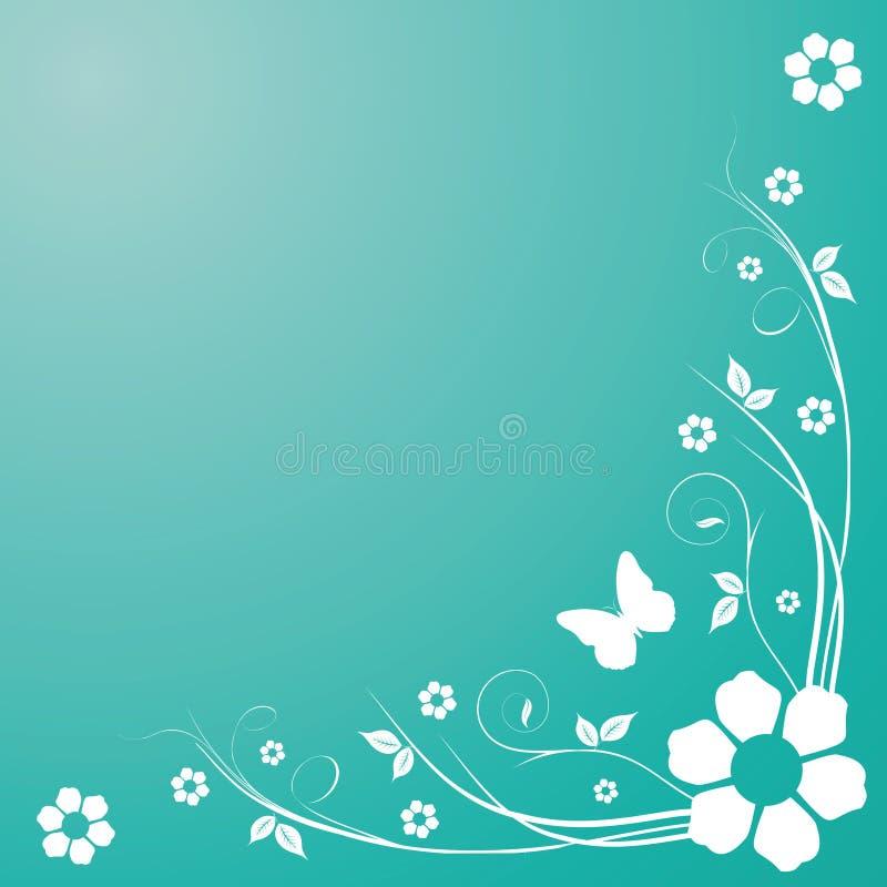 Download Remolinos del resorte ilustración del vector. Ilustración de floral - 7287957