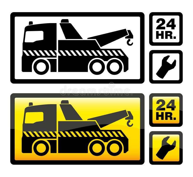 Remolque del coche libre illustration