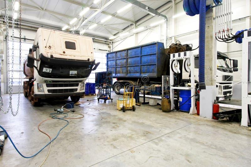 remontowa ciężarówka fotografia stock