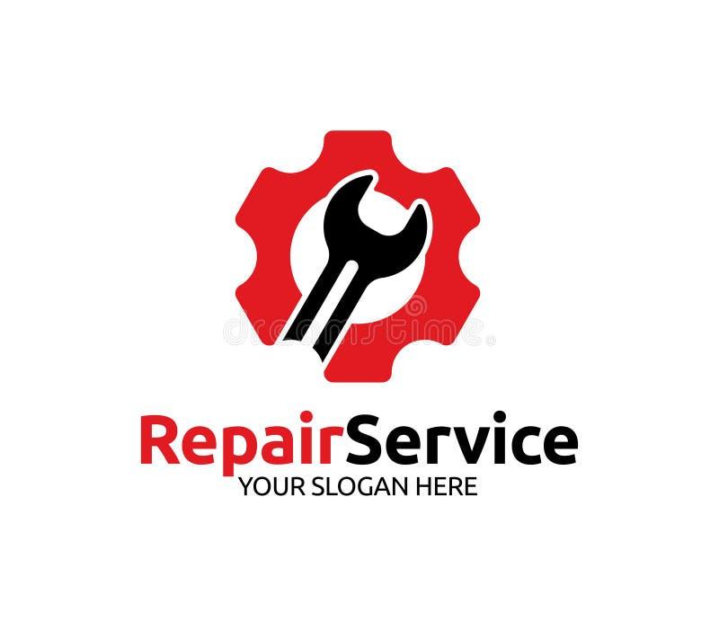Remontowej usługa logo royalty ilustracja