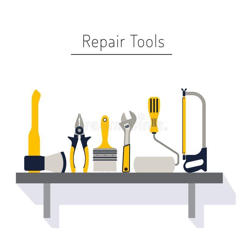 remontowi narzędzia ilustracji