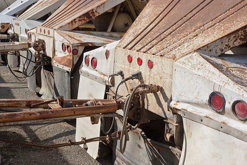Remorques rustiques de camion image libre de droits