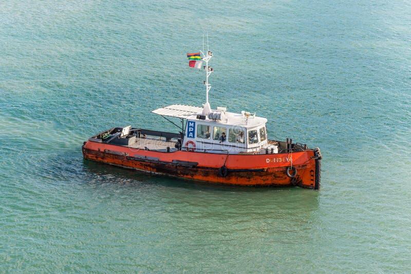 Remorqueur à Port-Louis, Îles Maurice images stock