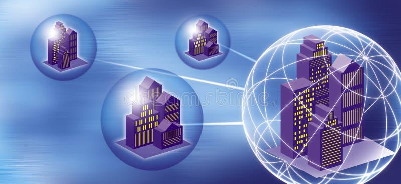 Remote access vector illustration