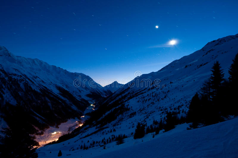 Download Remote alp valley stock photo. Image of moon, altitude - 12401088