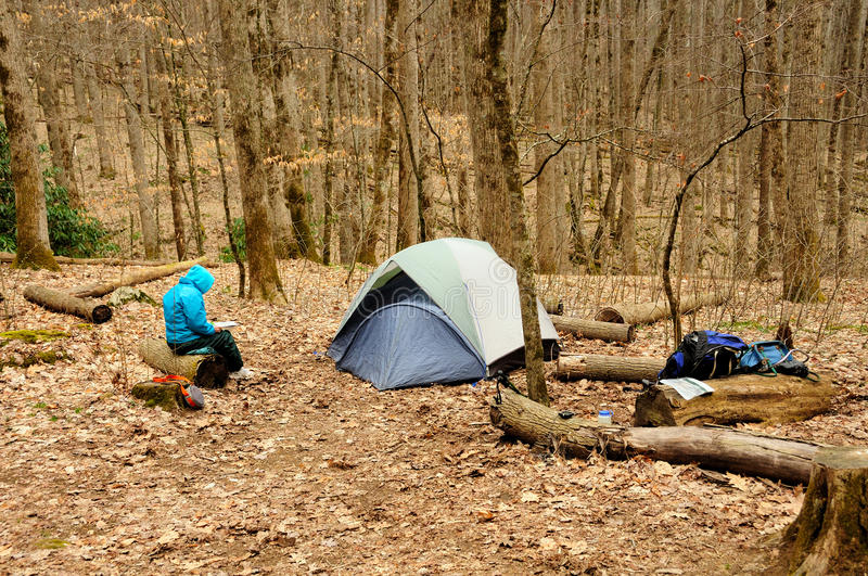 Download Remote camp in the Wilds stock image. Image of wilderness - 21777341