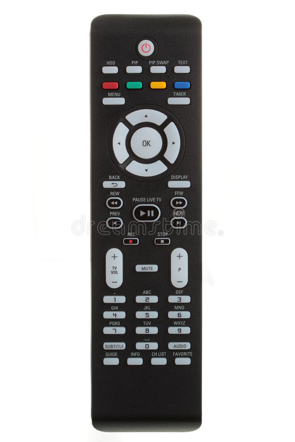 Remote control. royalty free stock photography