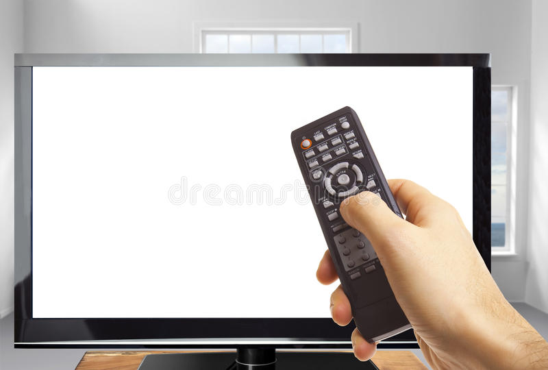 Download Remote Control stock photo. Image of hold, pointing, addiction - 26133766