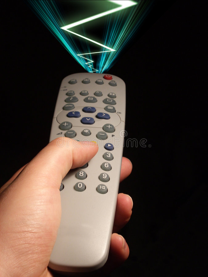 Download Remote Control 3 stock image. Image of remote, line, wave - 587639