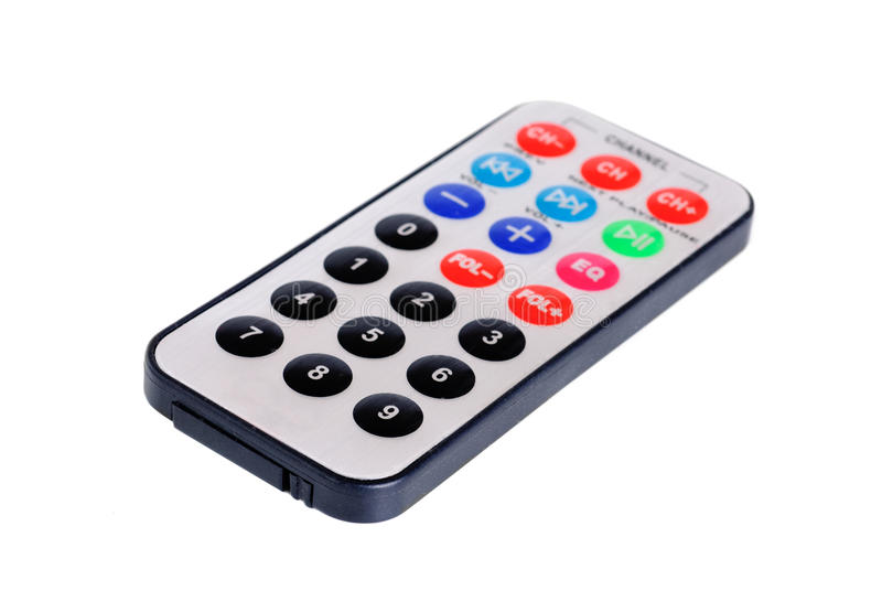 Download Remote Control  From Car Mp3 Player Royalty Free Stock Photo - Image: 25072705