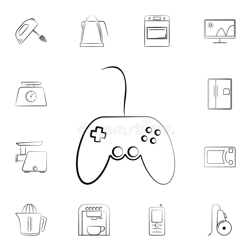 Remote Control icon. Detailed set of home appliances. Premium graphic design. One of the collection icons for websites, web design vector illustration
