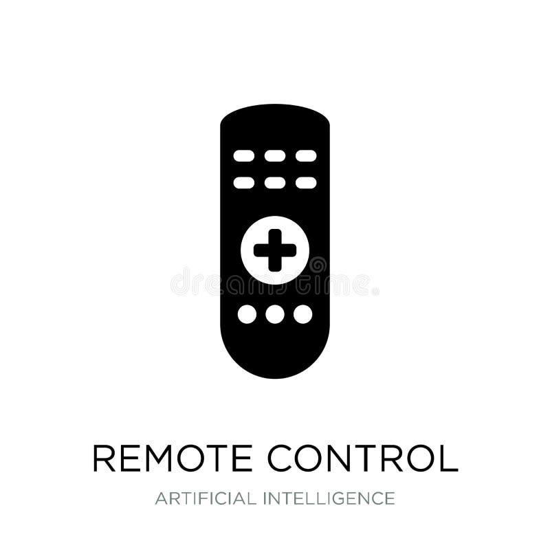 remote control icon in trendy design style. remote control icon isolated on white background. remote control vector icon simple vector illustration