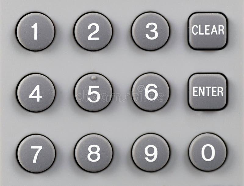 Remote Control Keypad Stock Image