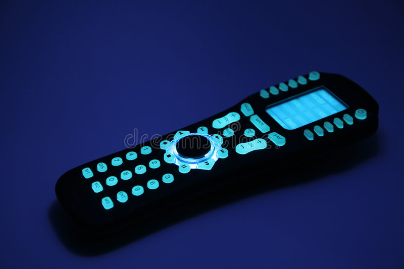 Remote Control at Night royalty free stock photo