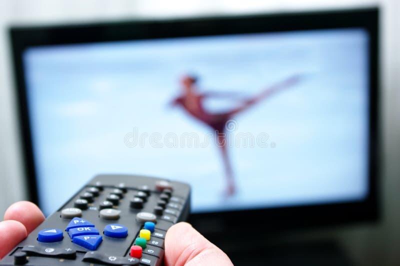 Remote control - skate dancing royalty free stock image