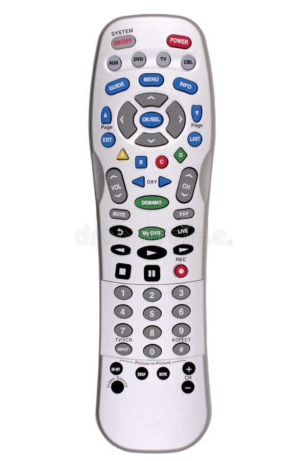 Free Remote Control - TV Stock Image - 3689311