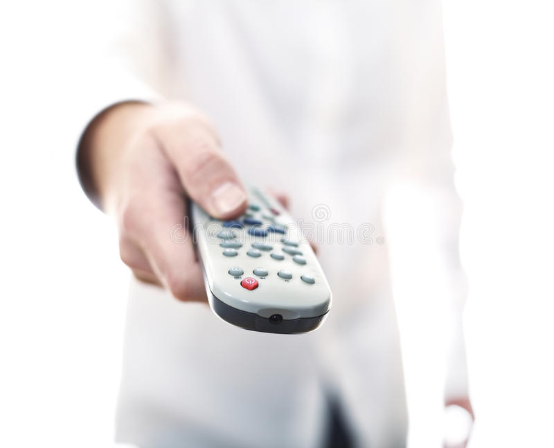 Remote Control Tv Background Stock Images