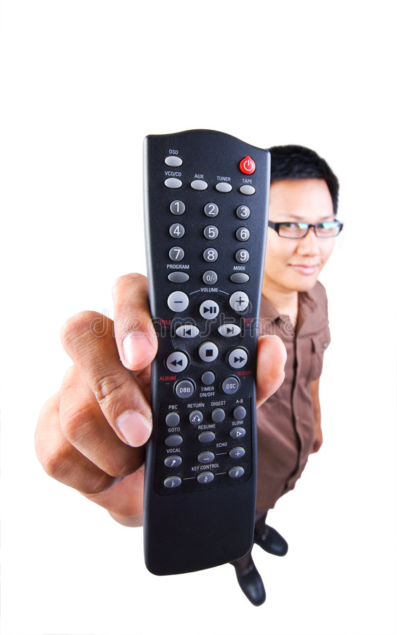Download Remote Controller stock photo. Image of male, looking - 4190084