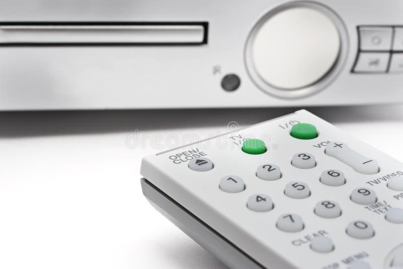 remote för kontrollantdvdspelare royaltyfria foton