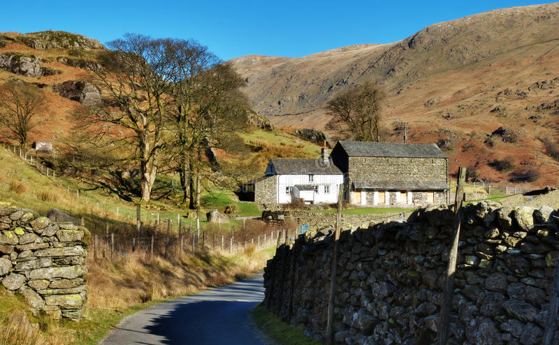 Download Remote Farm Buidlings, English Lake District Stock Photo - Image: 23517930