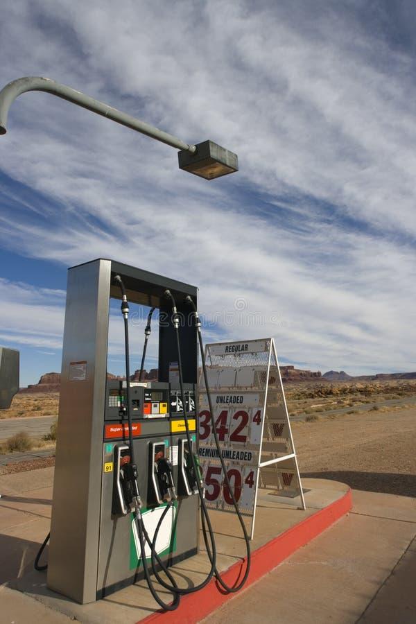 Remote Gas Station in Utah royalty free stock image