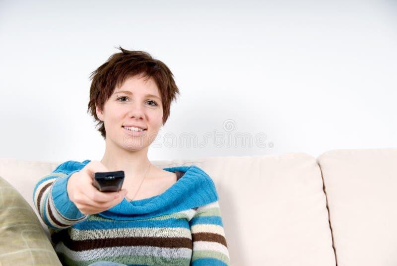 Remote Girl Stock Photos