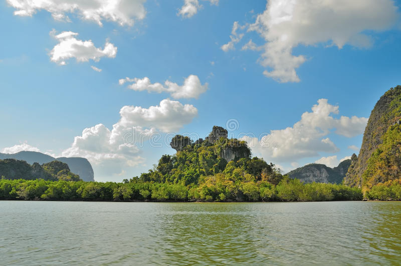 Download Remote islands in Thailand stock photo. Image of colorful - 33063270