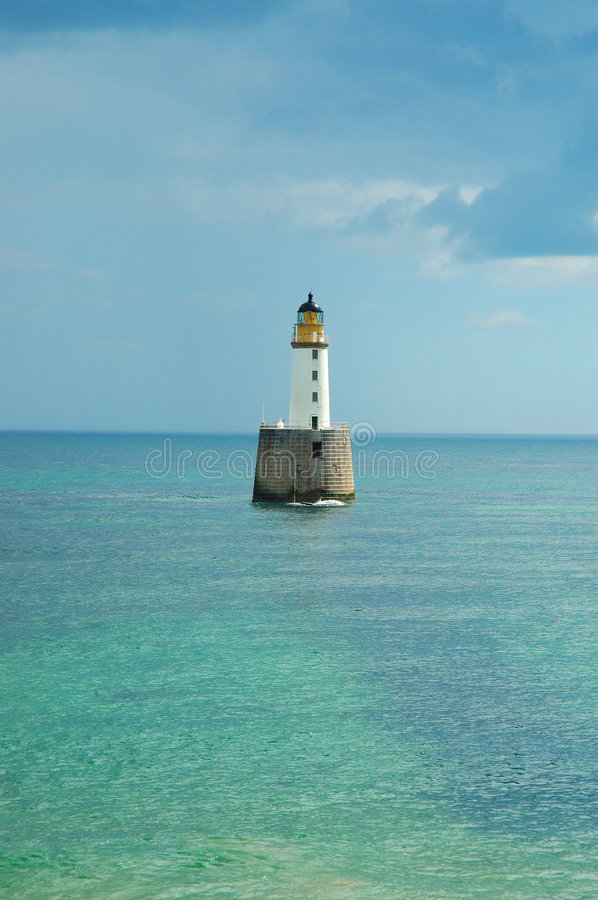 Remote Lighthouse stock photography