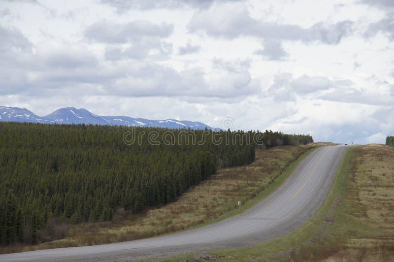 Download Remote Road Alaska Highway Canada Stock Photo - Image of asphalt, remote: 51716000