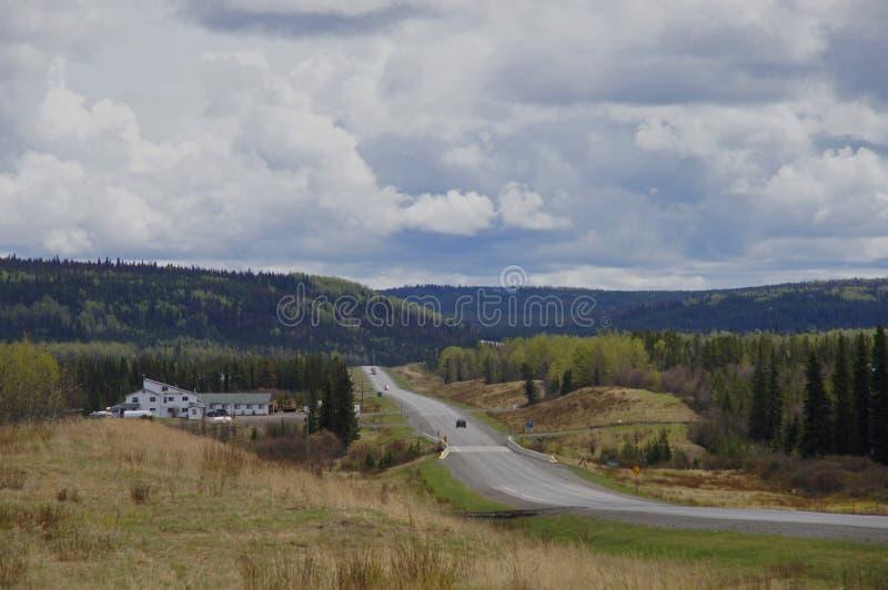 Download Remote Road Alaska Highway Canada Stock Image - Image of remote, columbia: 51716179