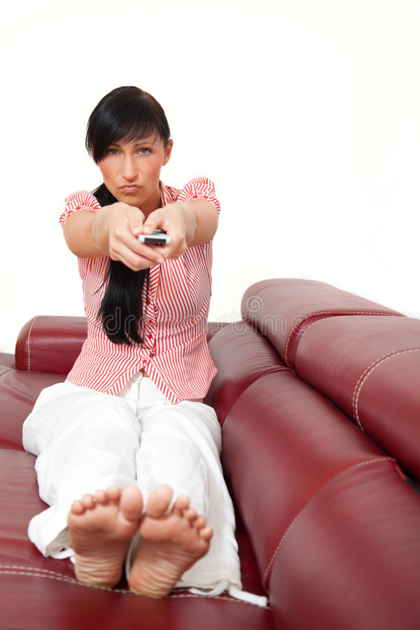 Download Remote tv control stock image. Image of emotion, home - 9846843