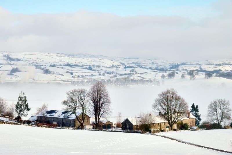 Download Remote Winter Farmhouse stock image. Image of farm, desolate - 23297041