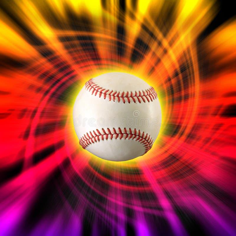 Remous de couleur de base-ball images stock