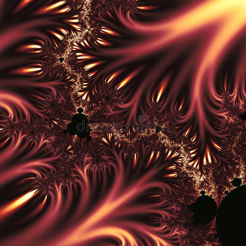 Remous de fractales illustration stock