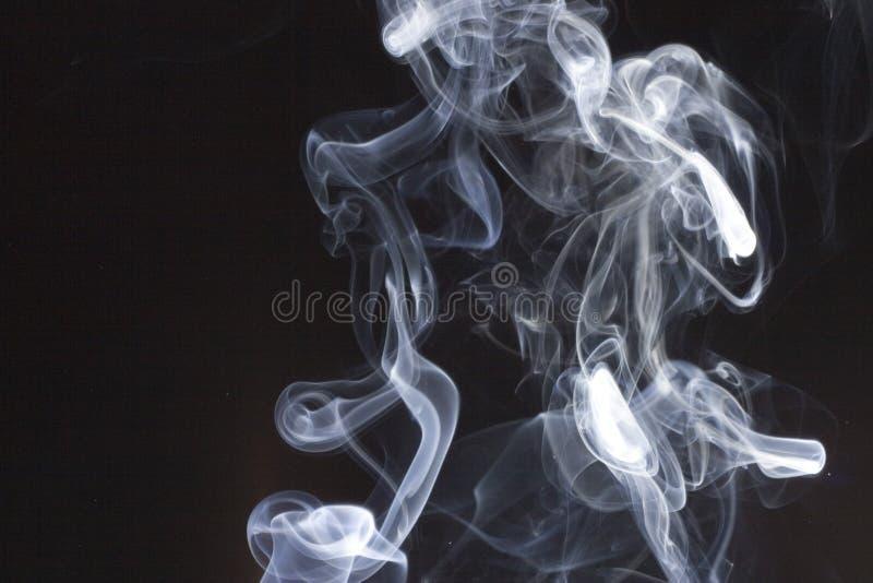 Remous de fumée photos stock