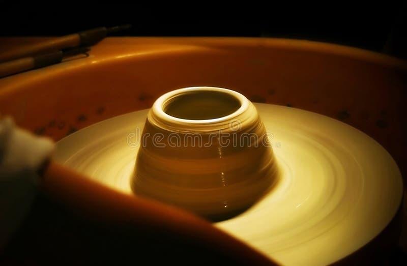Remous de poterie photo libre de droits