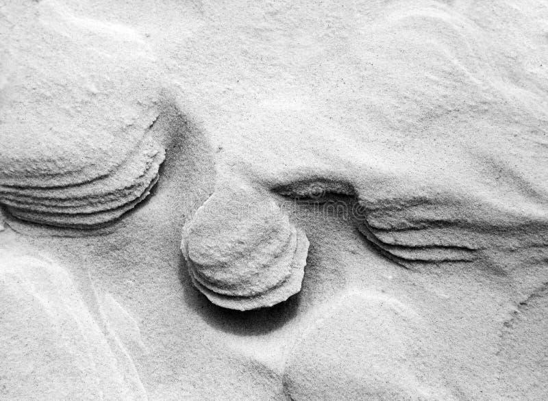 Remous de sable  image stock