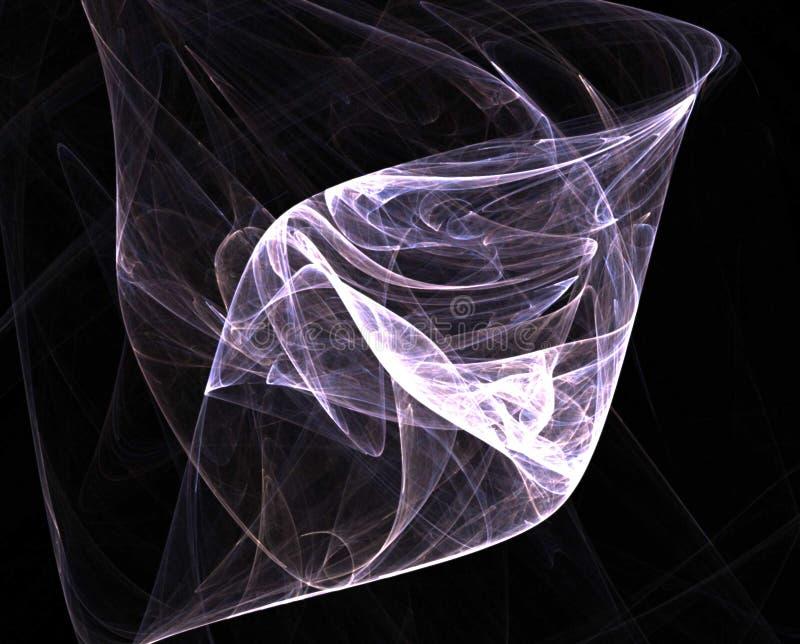 Remous hyperbolique illustration de vecteur