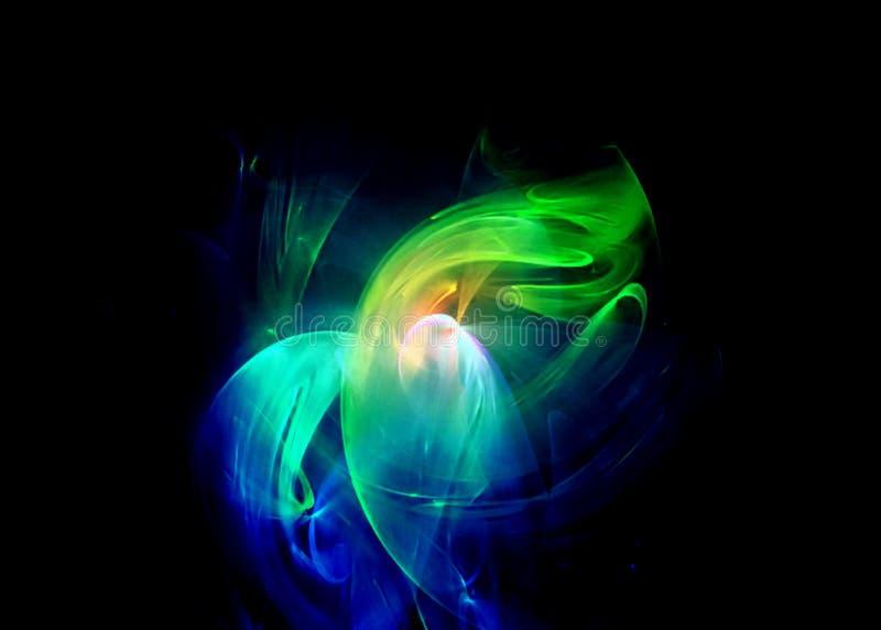 Remous multicolore illustration stock