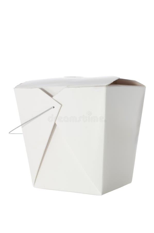 Remova o recipiente no branco com trajeto de grampeamento foto de stock royalty free