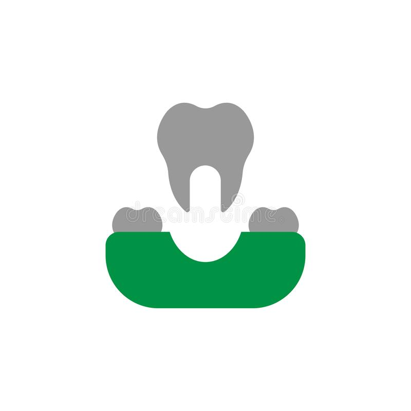 Removal and surgery icon. Element of Dental Care icon for mobile concept and web apps. Detailed Removal and surgery icon can be. Used for web and mobile on royalty free illustration