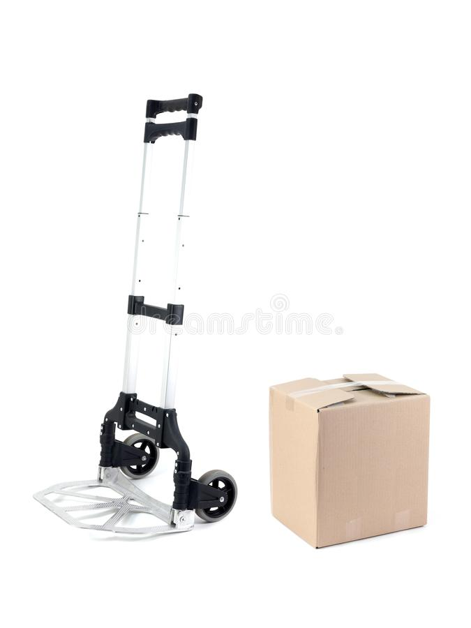 Removal Trolley Royalty Free Stock Photo