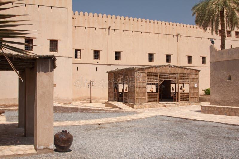 Remparts De Nizwah Image stock