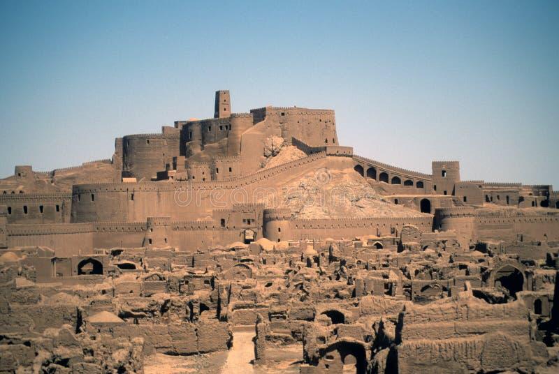 Remparts et constructions, ville médiévale et forteresse image stock