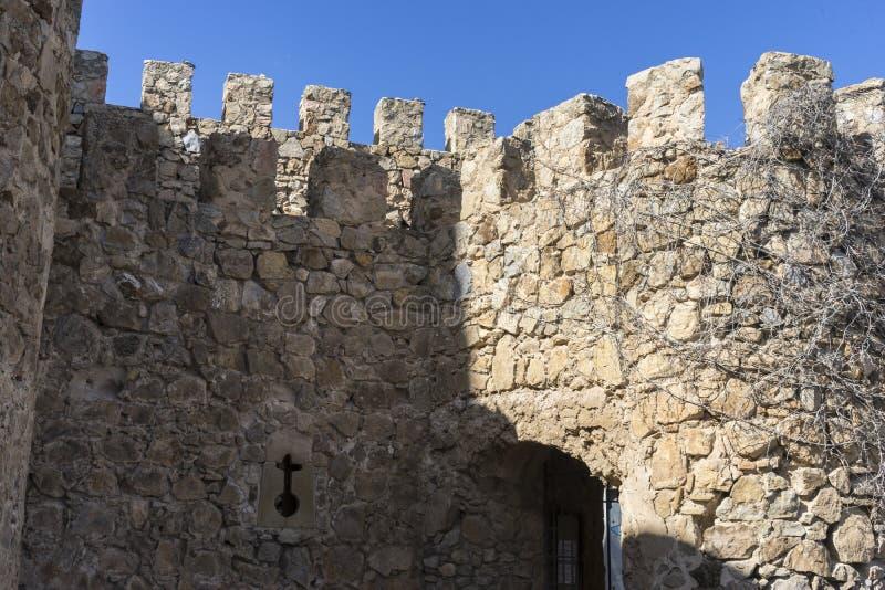 Download Remparts, Forteresse Et Château De Consuegra à Toledo, Espagne Photo stock - Image du outside, province: 76079120