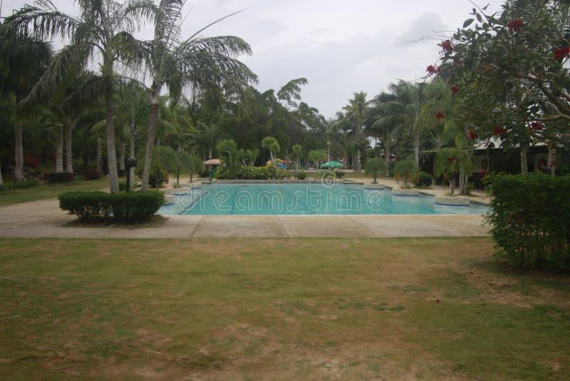 A a rempli? la petite station de vacances partie dans la ville de Teledo dans la province de Cebu Philippines photo libre de droits