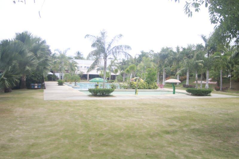 A a rempli? la petite station de vacances partie dans la ville de Teledo dans la province de Cebu Philippines image stock