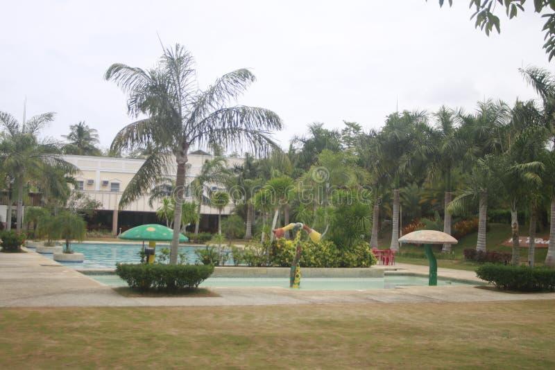 A a rempli? la petite station de vacances partie dans la ville de Teledo dans la province de Cebu Philippines photographie stock