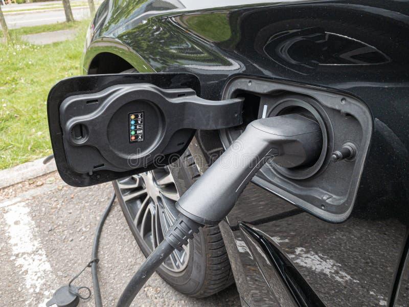 Remplissage électrique de véhicule image libre de droits