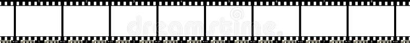 remsa x för 8 film royaltyfri illustrationer